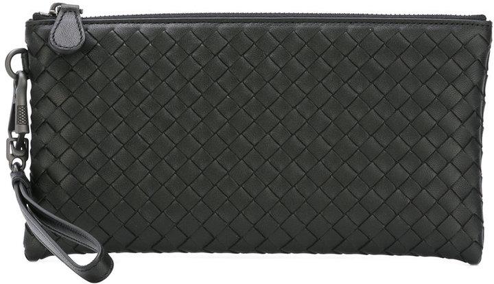 Bottega VenetaBottega Veneta woven coin purse with card holder