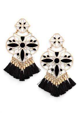 Women's Kate Spade New York Moroccan Tile Chandelier Earrings $148 thestylecure.com