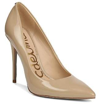 Sam Edelman Women's Danna Pointed Toe Patent Leather High-Heel Pumps