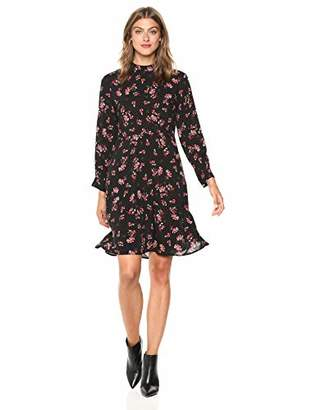 Velvet by Graham & Spencer Women's Juliet Printed Challis Dress