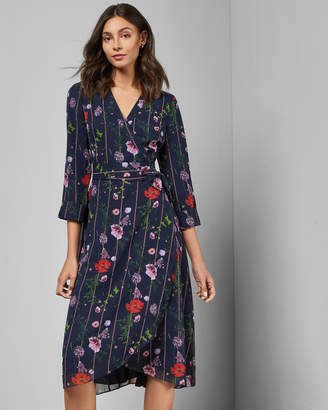 Ted Baker ELOWISA Hedgerow wrap dress