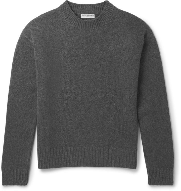 Balenciaga Blizzard Wool-Blend Sweater