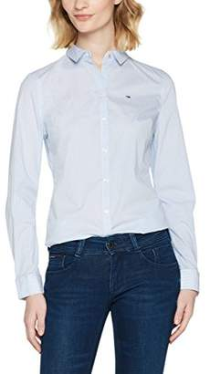 Tommy Hilfiger Tommy Jeans Women's Button Original Stretch Shirt