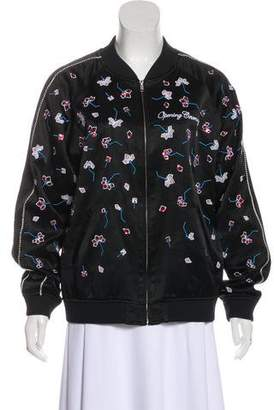 Opening Ceremony Embellished Bomber Jacket