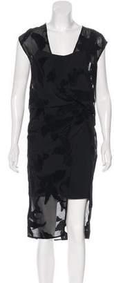 AllSaints Sleeveless Knee-Length Dress