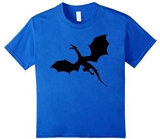 American Heritage Sleek Dragons Shadow Graphic Print T-Shirt
