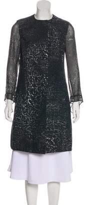 Akris Lightweight Knee-Length Coat