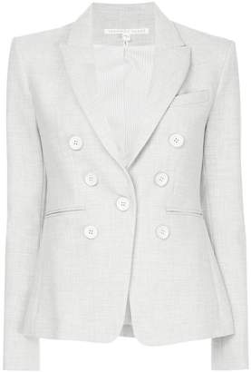 Veronica Beard Colson Dickey button blazer