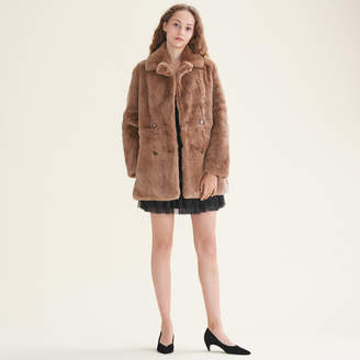 Maje Rabbit coat