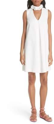 Ted Baker Embellished Neck A-Line Tunic Dress
