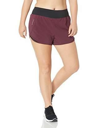 "Core 10 Women's Plus Size Knit Waistband Run Short Brief Liner - 2.5"""
