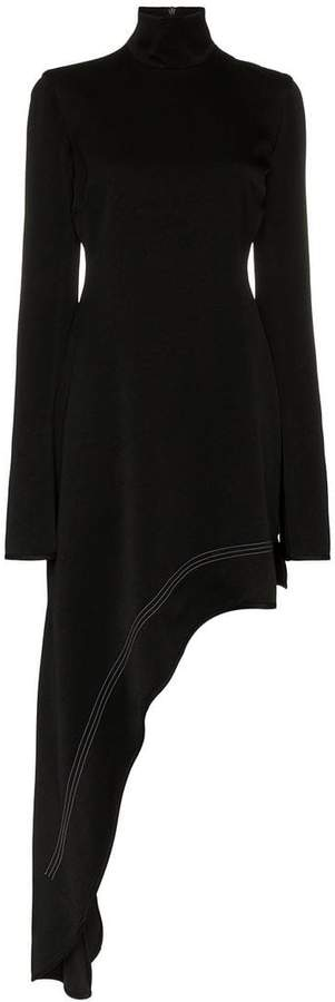 Ellery bauhaus asymmetric hem dress