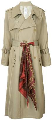 Puma Maison Yasuhiro long trench coat