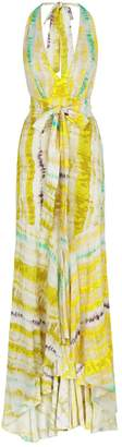 Silvia Tcherassi Tie-Dye Halter Dress