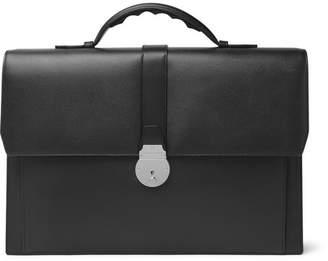 Smythson Grosvenor Full-Grain Leather Briefcase