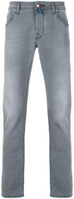 Jacob Cohen stonewashed straight leg jeans