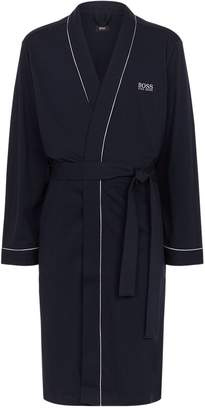 BOSS Piped Cotton Robe