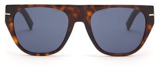 Christian Dior Sunglasses - Blacktie D Frame Acetate Sunglasses - Mens - Brown