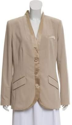 Magaschoni Button-Up Blazer