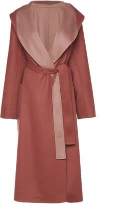 Agnona Zybellin Reversible Hood Cashmere Coat