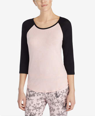Betsey Johnson Lace-Heart Pajama Top