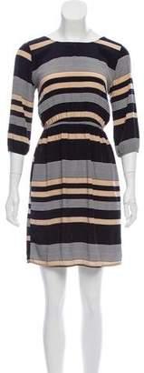 Needle & Thread Striped Mini Dress