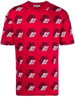 McQ monogram print T-shirt