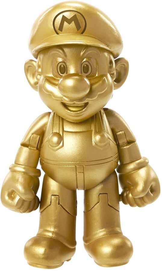 "Nintendo 4"" Gold Mario Figure Action Figure"