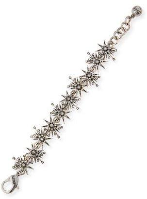 Lulu Frost Nova Crystal Star Bracelet $175 thestylecure.com