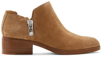 3.1 Phillip Lim Brown Suede Alexa Boots