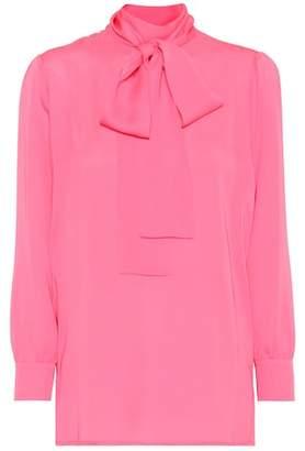 Gucci Silk georgette blouse