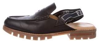 Fendi 2018 Leather Slippers