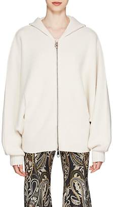 Chloé Women's Logo-Back Wool-Blend Hooded Sweater