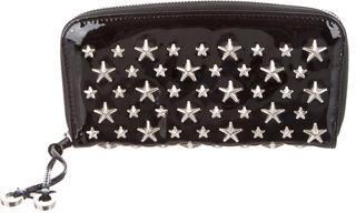 Jimmy ChooJimmy Choo Star-Embellished Continental Wallet