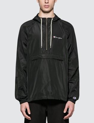 Champion Reverse Weave Hooded Half Zip Jacket