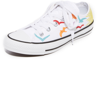 Converse Chuck Taylor All Star x Mara Hoffman OX Sneakers $95 thestylecure.com