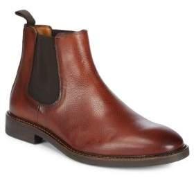 Black & Brown Black Brown Textured Chelsea Boots