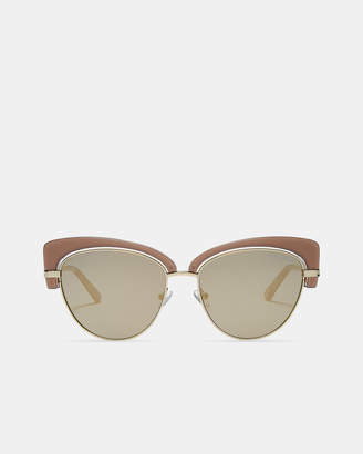 Ted Baker CASIED Taupe cat eye sunglasses