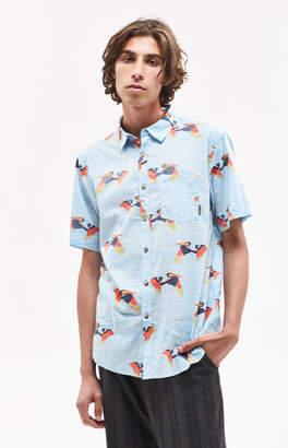 Billabong Sunday Florals Short Sleeve Button Up Shirt