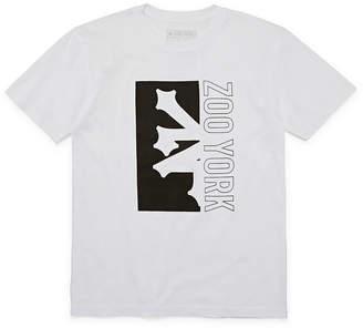 Zoo York Boys Crew Neck Short Sleeve Graphic T-Shirt - Big Kid
