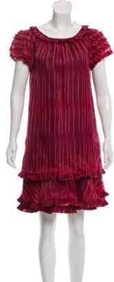 Marc Jacobs Ruffled Knee-Length Dress