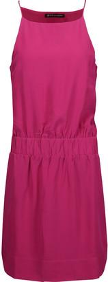 Vix Cutout washed silk-crepe mini dress $248 thestylecure.com