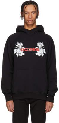 Christian Dior Black Roses Hoodie