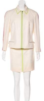 Versace Vintage Wool-Blend Skirt Suit w/ Tags