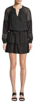 Ramy Brook Winnie Lace Blouson Dress