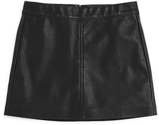 Blank NYC BLANKNYC Girls' Faux-Leather Skirt - Big Kid