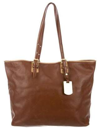 Longchamp Large LM Cuir Leather Tote