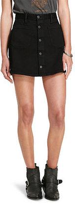 Ralph Lauren Denim & Supply D&S Tilden Button-Front Skirt $89.50 thestylecure.com