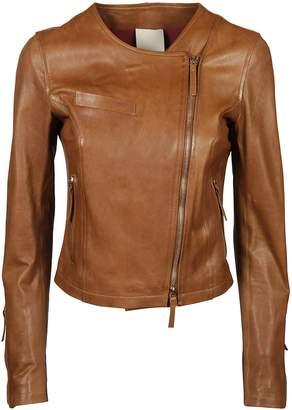 Off-center Zip Jacket
