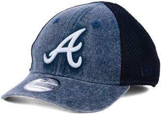 buy popular 7af52 c45c6 New Era Boys  Atlanta Braves Jr Hooge Neo 39THIRTY Cap